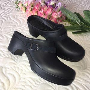 Crocs Dual Comfort  shoes Black Size: W 9